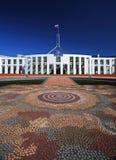 Het Huis van het Parlement in Canberra, Australië stock foto