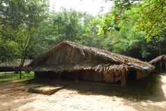 Het huis van het plattelandshuisje Stock Foto's