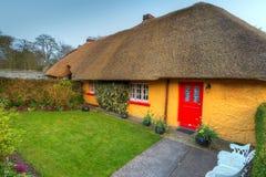 Het huis van het plattelandshuisje in Adare Stock Afbeelding