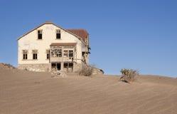 Het huis van het spook stock afbeelding