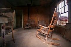 Het huis van het spook Royalty-vrije Stock Afbeeldingen