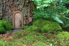 Het huis van het sprookje Stock Foto