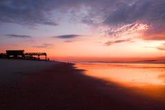 Het Huis van het strand Stock Afbeeldingen