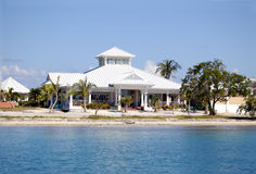 Het huis van het strand royalty-vrije stock fotografie