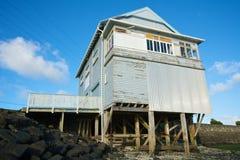 Het huis van het strand Stock Foto's