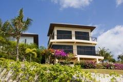 Het huis van het strand in Thailand Royalty-vrije Stock Afbeeldingen