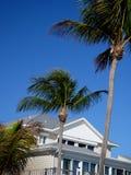 Het huis van het strand in Voet Myers Stock Afbeeldingen