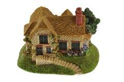 Het huis van het stuk speelgoed Stock Foto's