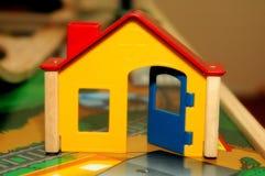 Het huis van het stuk speelgoed Stock Fotografie