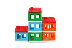 Het huis van het stuk speelgoed Stock Afbeelding