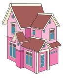 Het huis van het stuk speelgoed Royalty-vrije Stock Afbeelding