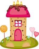 Het huis van het suikergoed Royalty-vrije Stock Afbeelding