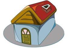 Het huis van het symbool stock illustratie