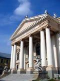 Het Huis van het theater, Oradea, Roemenië royalty-vrije stock fotografie