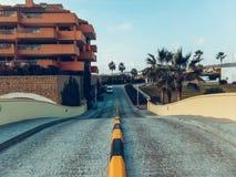 Het huis van het wegpalm beach Royalty-vrije Stock Afbeelding