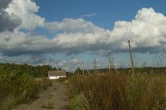 Het huis van het wolkengebied Royalty-vrije Stock Afbeeldingen