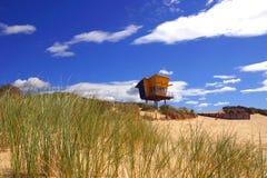 Het Huis van het zand Royalty-vrije Stock Afbeeldingen
