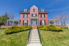 Het Huis van Hotchkissoudstudenten in Washington en Lee University Royalty-vrije Stock Fotografie