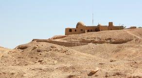 Het Huis van Howard Carter's dichtbij Luxor, Egypte. Stock Fotografie