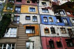 Het Huis van Hundertwasser Stock Fotografie