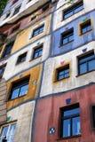 Het Huis van Hundertwasser Stock Foto
