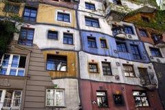 Het Huis van Hundertwasser Royalty-vrije Stock Afbeeldingen