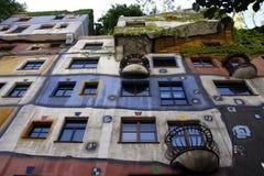 Het Huis van Hundertwasser Stock Afbeeldingen