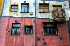 Het Huis van Hundertwasser Royalty-vrije Stock Fotografie