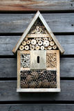 Het huis van insecten royalty-vrije stock afbeeldingen