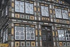 Het Huis van Karl Junker ` s in Lemgo, Duitsland Royalty-vrije Stock Afbeeldingen