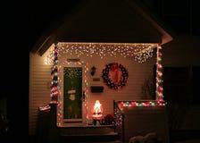Het huis van Kerstmis royalty-vrije stock foto's