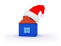 Het huis van Kerstmis royalty-vrije illustratie