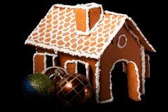 Het huis van Kerstmis gingernut Royalty-vrije Stock Foto's