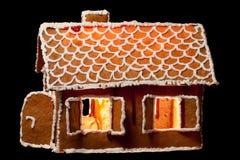 Het huis van Kerstmis gingernut Royalty-vrije Stock Fotografie