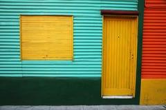 Het Huis van La Boca Stock Afbeeldingen