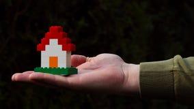 Het Huis van Lego Stock Fotografie