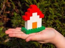 Het Huis van Lego Royalty-vrije Stock Foto's