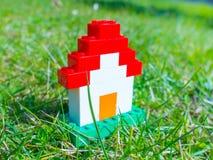 Het Huis van Lego Stock Foto's