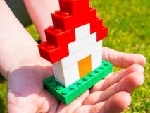 Het Huis van Lego Stock Afbeelding