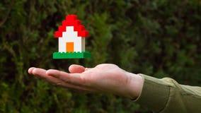 Het Huis van Lego Royalty-vrije Stock Fotografie