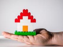 Het Huis van Lego Stock Foto