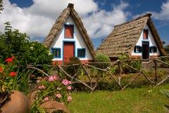 Het huis van madera Stock Fotografie