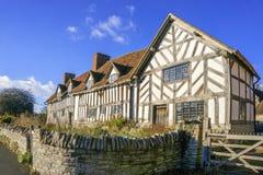 Het Huis van Mary Arden's Royalty-vrije Stock Foto's