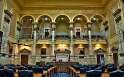 Het Huis van Maryland van de Kamer van Afgevaardigden in Annapolis Stock Foto's