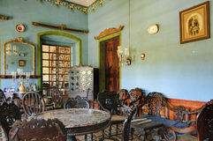 Het Huis van Menezesbraganza Pereira in Goa, India stock fotografie