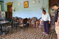 Het Huis van Menezesbraganza Pereira in Goa, India Royalty-vrije Stock Foto's