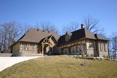 Het huis van Nice Royalty-vrije Stock Afbeeldingen