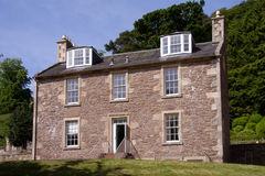 Het Huis van Robert Owen's, Nieuwe Lanark Royalty-vrije Stock Fotografie