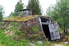 Het huis van Sami Stock Afbeeldingen