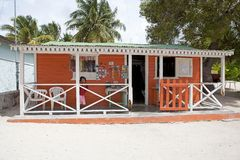 Het huis van Saona Stock Foto